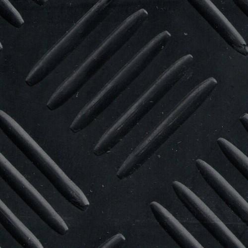 Tapis caoutchouc SBR dessin Tchecker au mètre linéaire épaisseur 3 mm