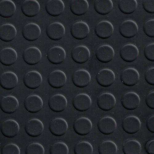 Rouleau de 25 mètres de Tapis caoutchouc pastillé pvc sur feutre en largeur 140 cm