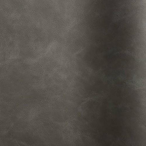 Peau de cuir de bovin corrigé effet vieilli Etna coloris anthracite