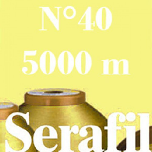 Box of 4 Sewing thread Serafil n°40 spool of 5000 ml