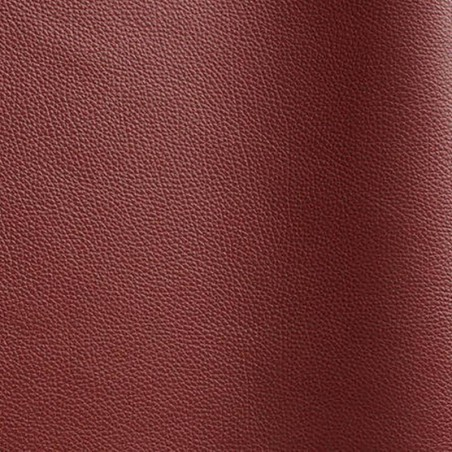 Beef leather pigmented Tango bordeaux color