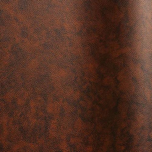 Peau de cuir de taureau corrigé Bulgaro coloris marron