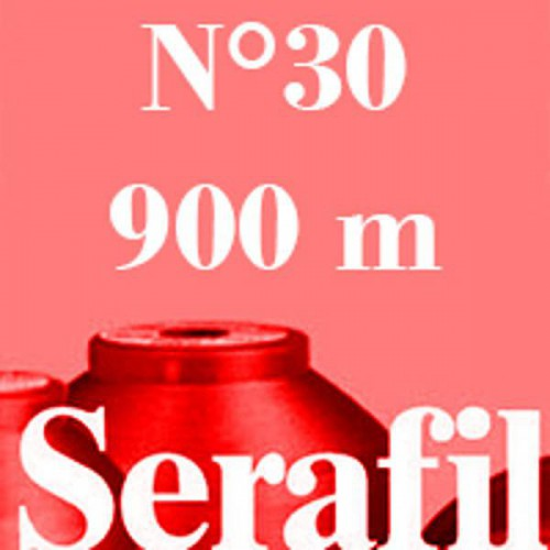 Box of 5 Sewing thread Serafil n°30 spool of 900 ml