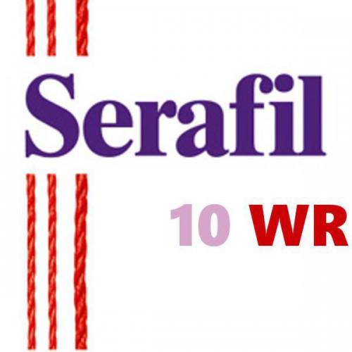 Boite de 5 cônes de fil à coudre Hydrofuge Serafil n°10WR bobine de 300 ml