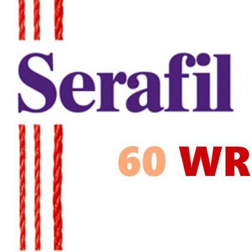 Boite de 5 cônes de fil à coudre Hydrofuge Serafil n°60WR bobine de 1800 ml