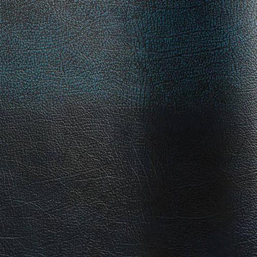 Peau de cuir de bovin pigmenté Rub-off coloris bleu