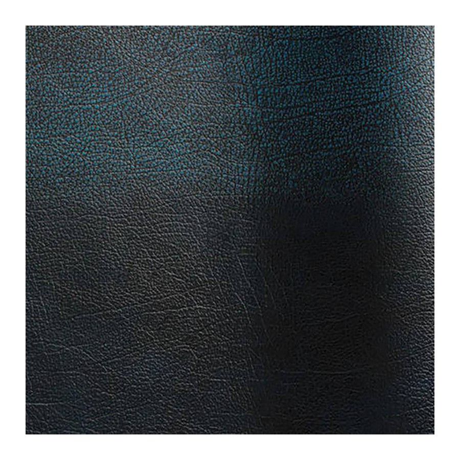 Bovine leather pigmented Rub-off blue color