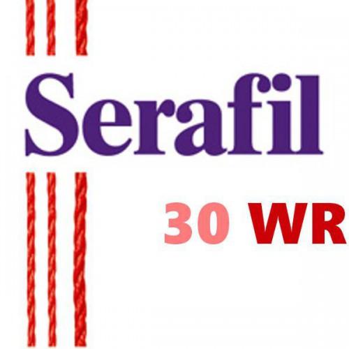 Boite de 5 cônes de fil à coudre Hydrofuge Serafil n°30WR bobine de 4000 ml