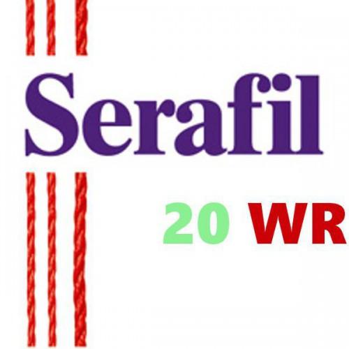 Boite de 5 cônes de fil à coudre Hydrofuge Serafil n°20WR bobine de 2500 ml