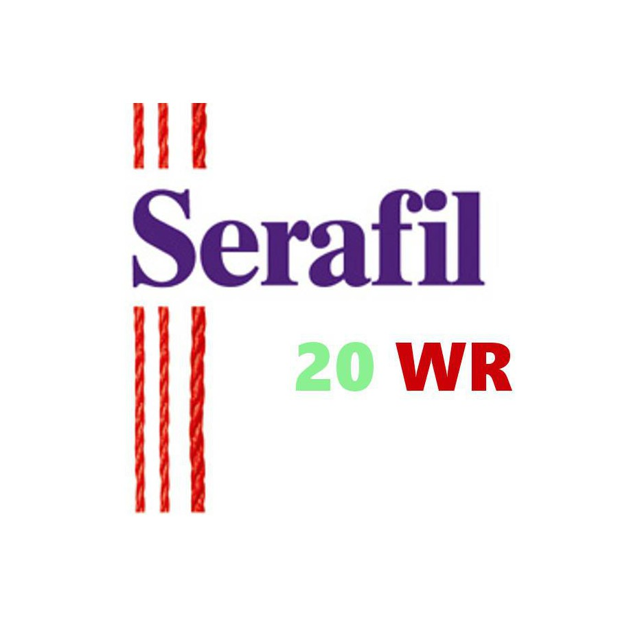 Box of 5 Sewing thread Serafil n°20WR spool of 2500 ml