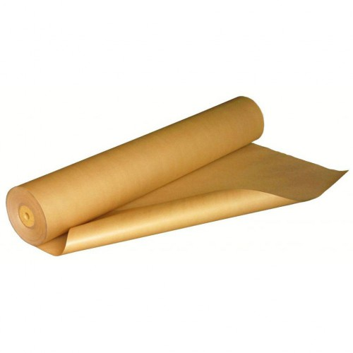 Rouleau de papier Kraft traditionnel largeur 140 cm 125 gr/m2 rouleau de ± 170 ml