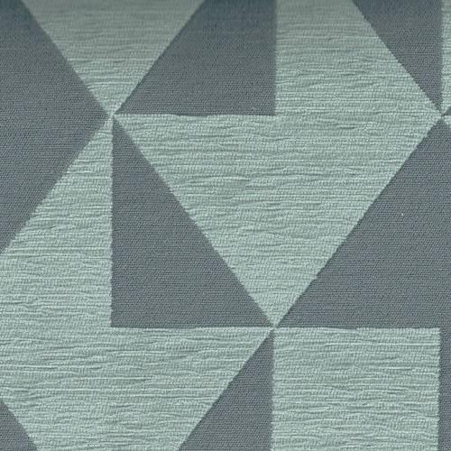 Tissu Jacquard Cubisme Chanée Ducrocq Deschemaker - Charbon 103956