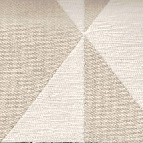 Jacquard Cubisme Fabric Chanée Ducrocq Deschemaker - Mastic 103959