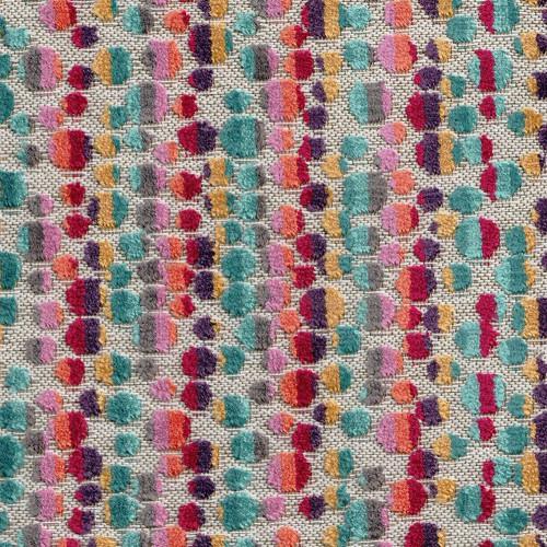 Tissu Colombia Chanée Ducrocq Deschemaker - Multicolore 104005