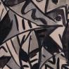 Tissu imprimé Berlin Chanée Ducrocq Deschemaker - Anthracite 3100