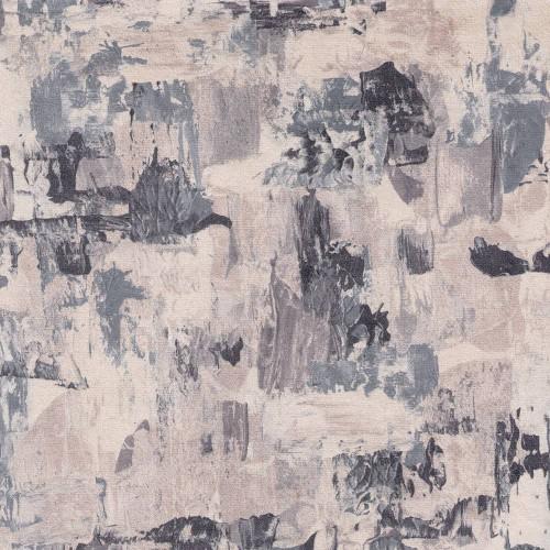 Tissu imprimé Munich Chanée Ducrocq Deschemaker - Ardoise 3102