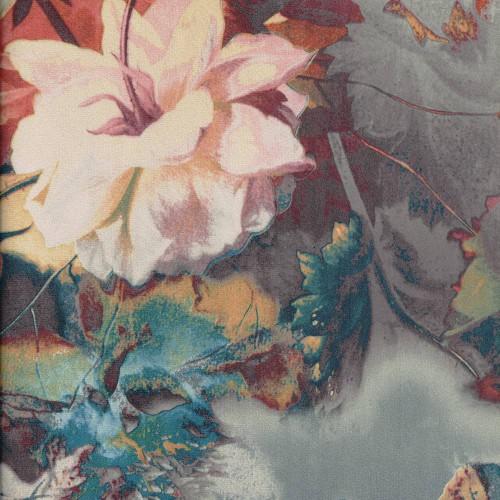Tissu imprimé Mayence Chanée Ducrocq Deschemaker - Amande 3103