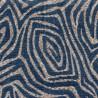 Jacquard Santorin Fabric Chanée Ducrocq Deschemaker - Indigo 103916