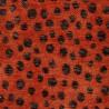 Jacquard Mykonos Fabric Chanée Ducrocq Deschemaker - Potiron 103917