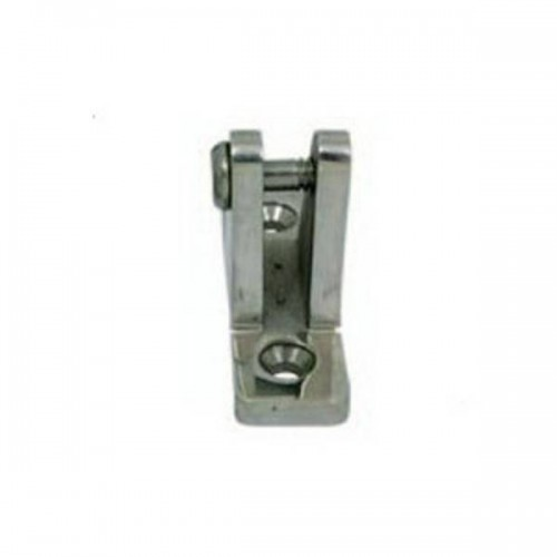 Stainless steel bridge fastening with screw shaft