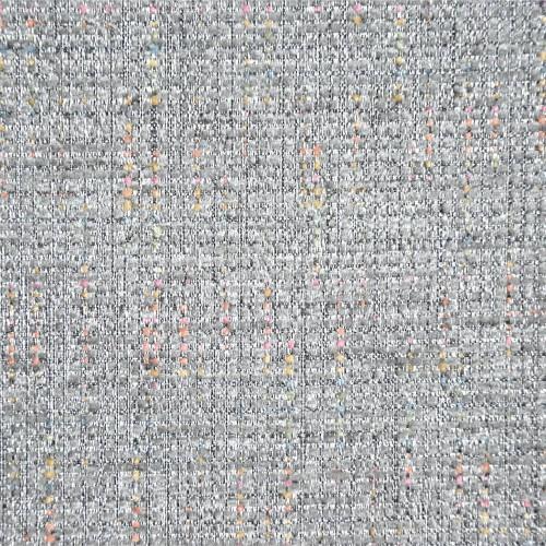 Tissu faux-uni chenille Dakar Casal - Argent 16501/60