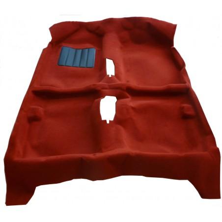 Ensemble moquette rouge pour Peugeot 205 GTI