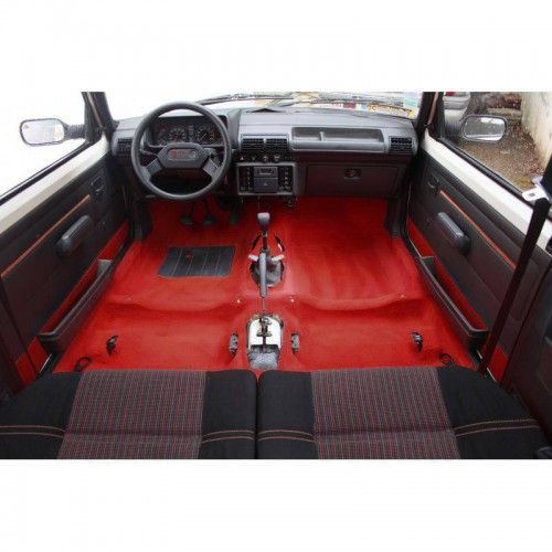 Red carpet for Peugeot 205 GTI