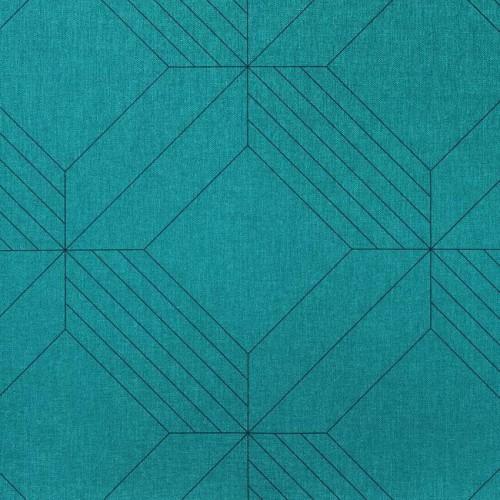 Simili cuir d'ameublement Gridz de Panaz référence 139 Aqua