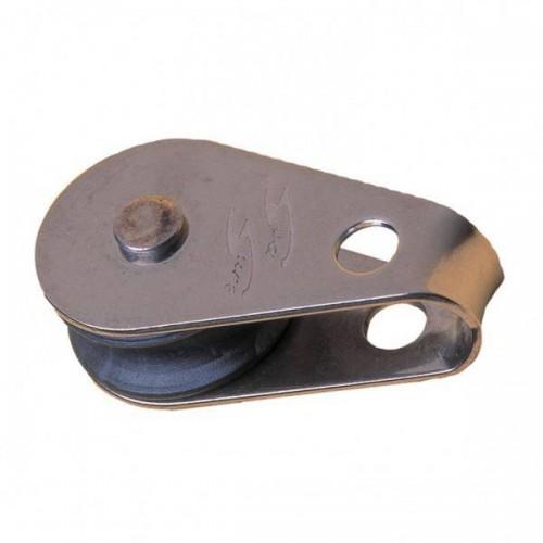 Mini block with PVC steel eye