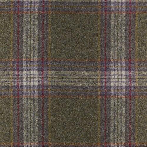 Tissu laine vierge Buckden coloris Marron référence U1435-B03-Alexandrite par Abraham Moon & Sons