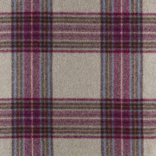 Tissu laine vierge Buckden coloris Bordeaux référence U1435-E05-Ammolite par Abraham Moon & Sons