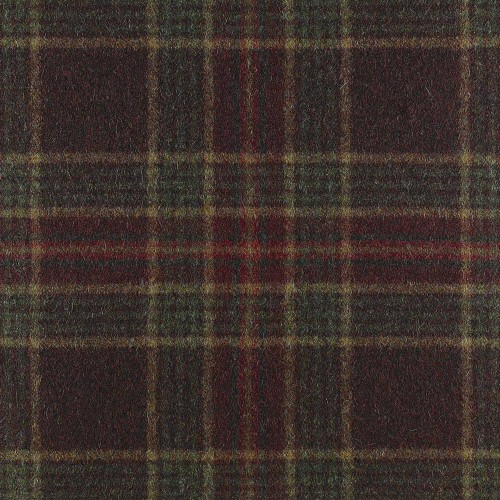 Tissu laine vierge Ingleton référence U1350-AA14-Tourmaline par Abraham Moon & Sons
