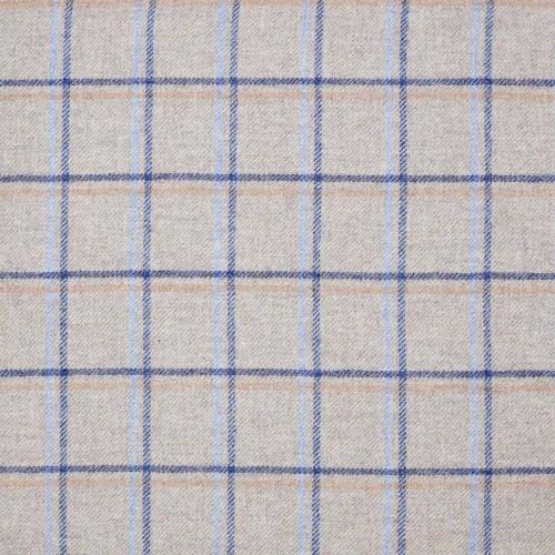 Tissu laine vierge Duisdale référence U1315-A01-Denim Abraham Moon & Sons