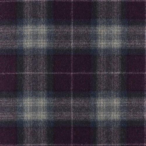 Tissu laine vierge Theshfield référence U1436-B02-Iolite1 par Abraham Moon & Sons