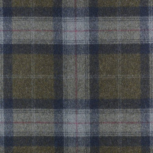 Tissu laine vierge Skye référence U1104-DW59-Olivine de Abraham Moon & Sons