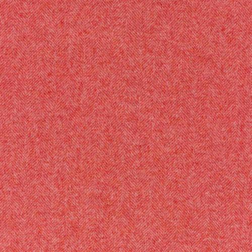 Tissu laine vierge Herringbone référence U1538_A01-Flamingo de Abraham Moon & Sons