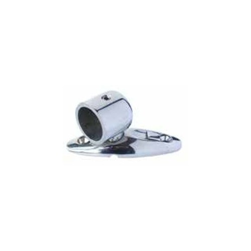 Side stainless steel deck bracket for bimini 22 mm