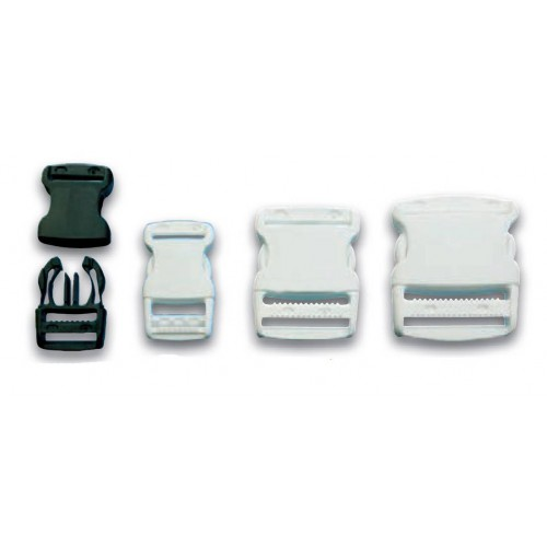 Buckle plastic clips