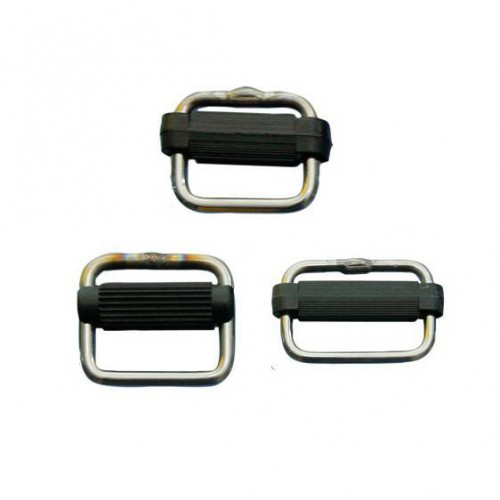 Stainless steel from plastic buckle