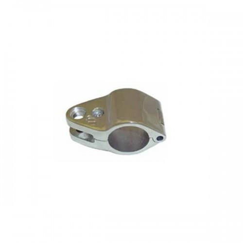 Stainless steel open collar for tube