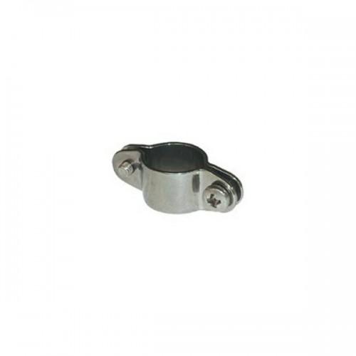 Collier double inox pour tube de 22 mm