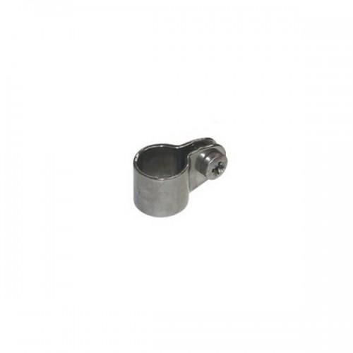 Collier simple inox épaisseur 2 mm pour tube diamètre 19 mm