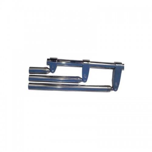 Collier inox fermé standard avec ou sans extension pour tube