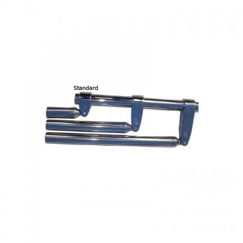 Collier inox fermé standard pour tube de diamètre 32 mm