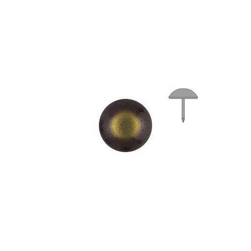 Clou tapissier lentille Bronze renaissance à la pièce diamètre 14 mm