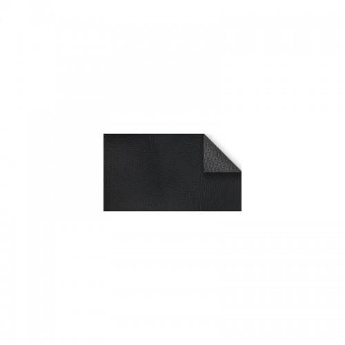 Imitation leather border width 40mm black color