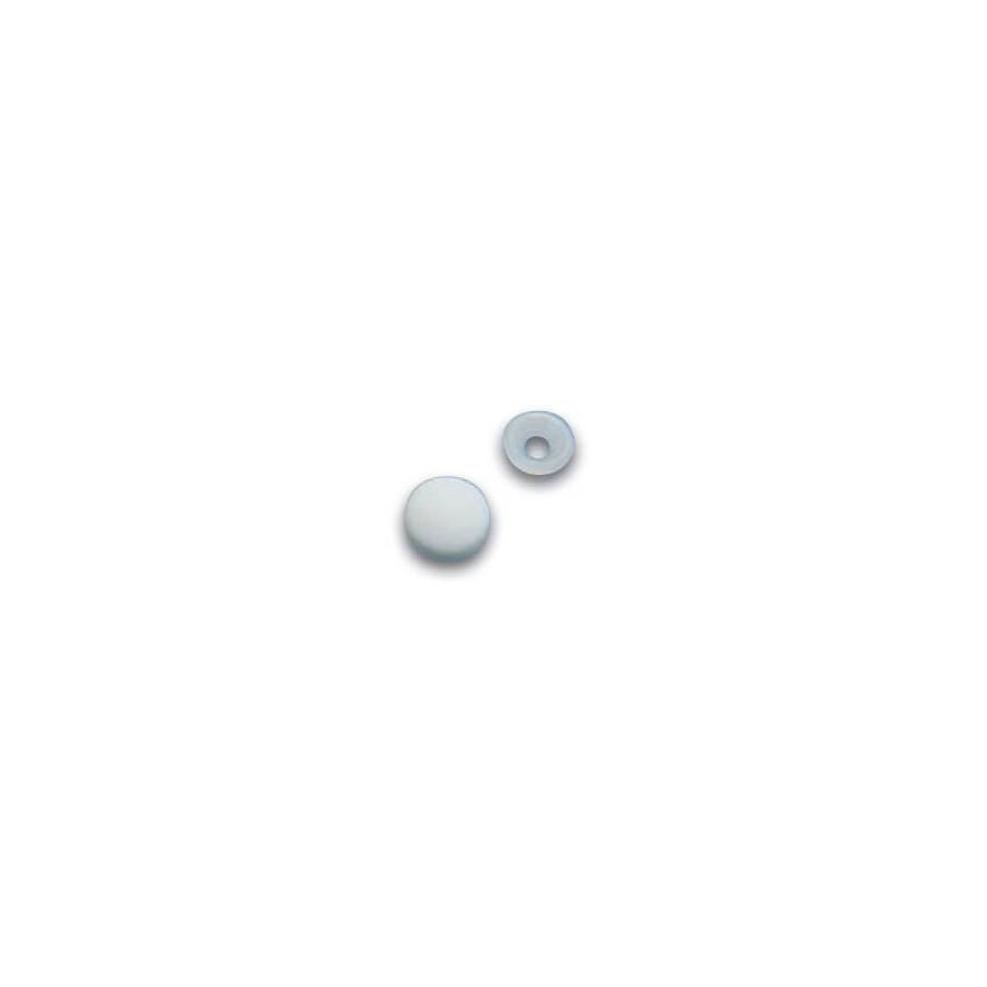 11 mm Passepoil Satin Bleu Marine Rayé Blanc au mètre