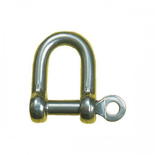 316 stainless steel straight shackle
