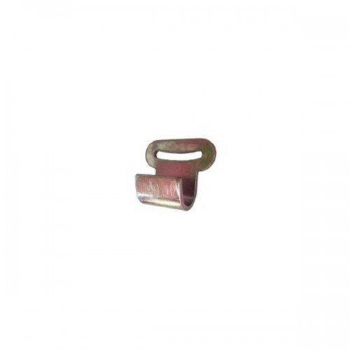 Zinc-plated flat hook