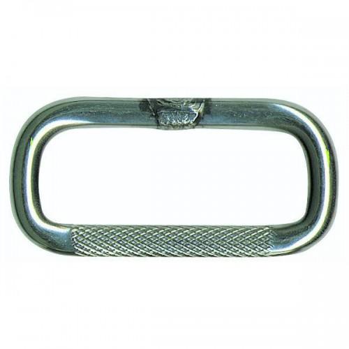 316 stainless steel knurled loop